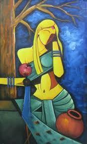 Krishna Modern Paintings Lord