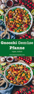 gnocchi gemüse pfanne vegan