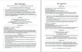 Resume Samples For Retail Sales Sample A Manager