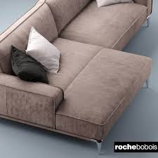 100 Roche Bobois Leather Sofa Bobois 3D Model