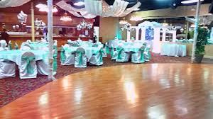 Quinceanera Decorations For Hall by Aqua U0026 Silver Quinceanera Especial Events Banquet Facility Youtube