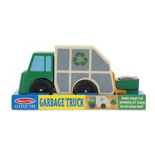 100 Garbage Truck Tab Melissa Doug Wooden Legacy Toys