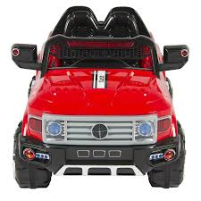 12V Kids Truck SUV Ride-On Car W/ 2 Speeds, Lights, AUX - Red – Best ... Jeronimo Monster Ride On Truck Details About 12v Kids On Car Rc Remote Control W Led Jual Obral Tomindo Toys Ct619 Biru Mainan Anak Amazoncom Costzon Jeep 2wd Powered Manual Fire More Onceit Best Choice Products Semi Big Shop Costway Suv Mp3 Electric Cars For Toddlers Jay Goodys Forklift With Combustion Engine Rideon Truckmounted Handling Rideon Toy Trucks Ragle Design