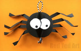 Materials Needed For Your Paper Spider Craft