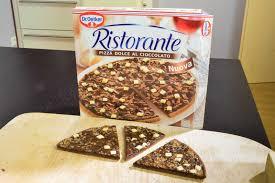 schokoladenpizza dr oetker checkosbackstube