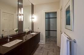 industrial wall sconce bathroom contemporary with bathroom mirror