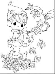 Coloring Pages Disney Descendants For Girls Precious Moments Fall