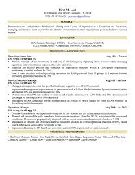 6 Sample Military To Civilian Resumes Hirepurpose Resume Examples For Army