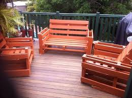 Pallet Patio Table Plans by Outdoor Furniture Made From Pallets