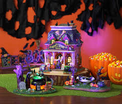 Lemax Halloween Houses 2015 by Inspirations