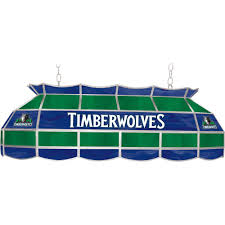 Home Depot Tiffany Lamp by Nba Minnesota Timberwolves Nba 3 Light Stained Glass Hanging