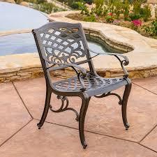 Wayfair Patio Dining Sets by Amazon Com Covington Antique Bronze Outdoor Patio Furniture 5pcs