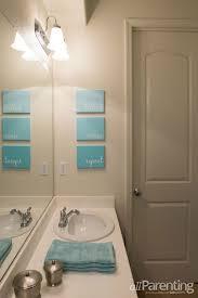 Chevron Print Bathroom Decor by 10 Innovative And Excellent Diy Ideas For The Little Bathroom 3