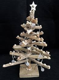 Ebay Christmas Trees With Lights by Handmade Nautical Smooth Driftwood Christmas Tree With Pearl