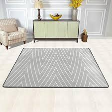 de isaoa moderner und bequemer teppich in grau und