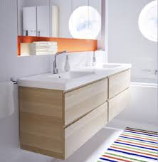 Ikea Molger Sliding Bathroom Mirror Cabinet by Modern Wall Mounted Bathroom Vanity With Double Drawers And Under
