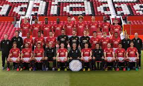 Schweinsteiger And FA Cup Missing From Man Utds 2016 17 Team Photo