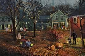 Lemax Halloween Village Ebay by Diy Spooky Halloween Village Shabby Grace Rolling Hills Fish Pond