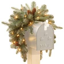 Connect Martha Stewart Pre Lit Christmas Tree by Top 10 Frosted Christmas Decorations
