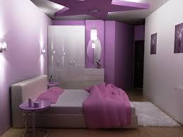 Outstanding Interior Design For Girls Room Decor Ideas Exquisite With Purple Sheet Platform