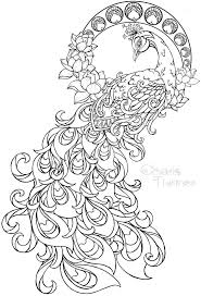 Spring Coloring Sheets For Toddlers Pages Middle School Flowers Paisley Beautiful Large Peacock Pattern Tattoo Design