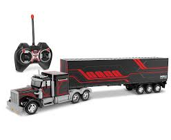 100 Rc Semi Truck For Sale Amazoncom World Tech Toys Mega Rig Electric RC Trailer