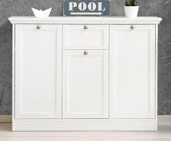 sideboard kommode weiß landhaus wohnzimmer esszimmer schrank landwood 120x90 cm