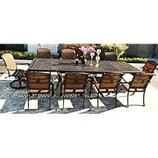 8 Person Patio Table by Amazon Com Lakeview Outdoor Designs Avery Island 10 Person Resin