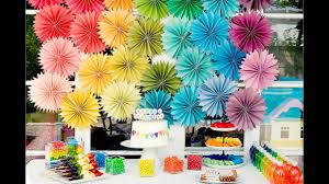 Birthday Party Theme Decorations At Home Ideas For Kids