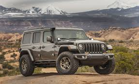 Off-Roading In The Easter Jeep Concepts And The All-New Wrangler ...