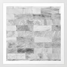 100 Marble Walls Wall Art Print