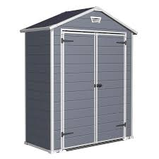 shop keter manor gable storage shed common 6 ft x 3 ft actual