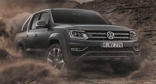 100 Vw Truck Diesel VW Launches New RangeTopping Amarok With A 254HP V6