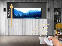 venset ts1000b elektrischer einbau möbel tv lift 1000mm hub