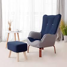nordic wohnzimmer sofa faul sofa einzigen stuhl hohe zurück