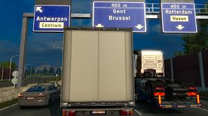BELGIAN REALISTIC LICENSE PLATES V1.1 Mod -Euro Truck Simulator 2 Mods