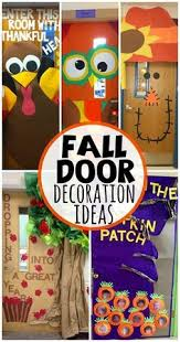 Kindergarten Thanksgiving Door Decorations by Be A Rainbow In Someone Else U0027s Cloud Classroom Door Decorations