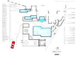 Swimming Pool Drawing Natural Plans Design And Sample Water Slide