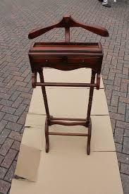 Mens Valet Dressing Chair by Gentlemans Mahogany Suit Hanger And Valet Stand With Draws