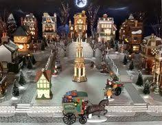 Lemax Halloween Village Displays by Village Display Platform Always Makes Setting Up Much More