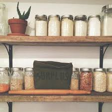 Reclaimed Wood Kitchen Shelves And Best Ideas On Floating