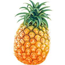 Pineapple transparent image
