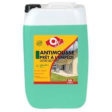 anti mousse murs exterieurs antimousse façade le glouton oxytol 20 l leroy merlin