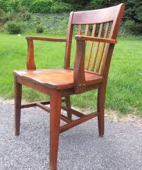 vintage murphy chair co wood office chair banker courthouse