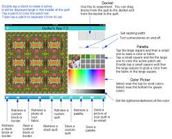 Quilter& App on the iPad