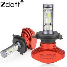 get zdatt headlight h4 h7 h8 h9 h11 h1 9005 hb3 9006 hb4 9003 hb2