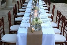 Rustic Wedding Table Runners Burlap 12 Inches Wide Fall Decor Reception Decorations