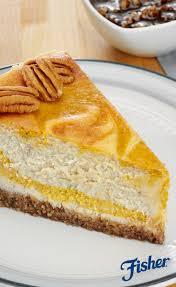 Marbled Pumpkin Cheesecake Bars by Pumpkin Pecan Swirl Cheesecake U003d Nutty Pumpkiny Goodness Chef