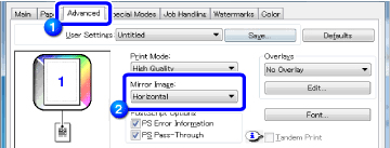 If You Wish To Reverse The Image Horizontally Select Horizontal Vertically Vertical