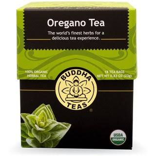 Buddha Teas Organic Oregano Tea - 18ct
